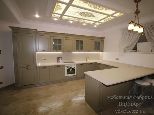 Кухня - проект компании ВиДиАрт